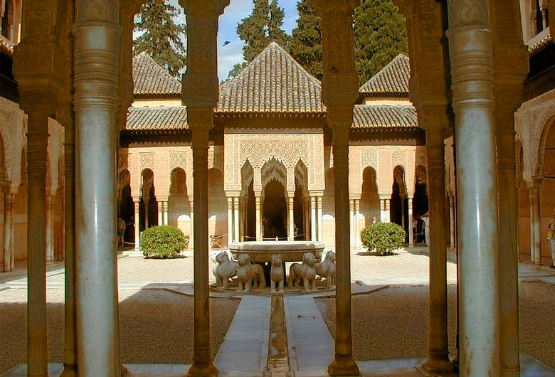 Patio interior de la Alhambra