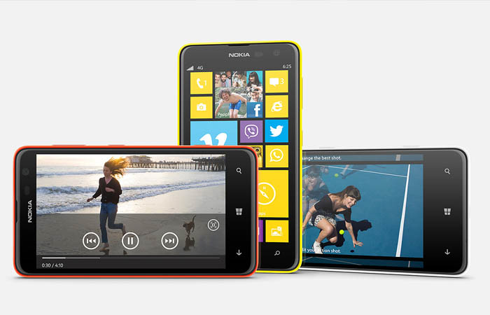 Nokia Lumia 630 con Windows 8.1 como sistema operativo