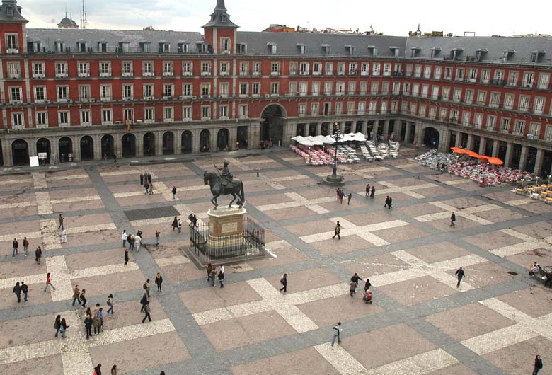 Vista de la Plaza Mayor