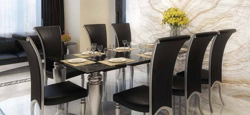 Decorar un comedor tendencias e ideas - Decorar aparador comedor ...