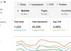 Descubre Search Analytics Report de Google