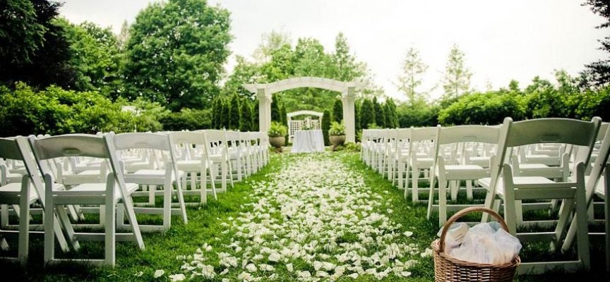 cheap outdoor wedding ideas decoraci 243 n para bodas al aire libre 27856